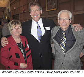 Wendie Crouch, Scott Russell, and Dave Mills
