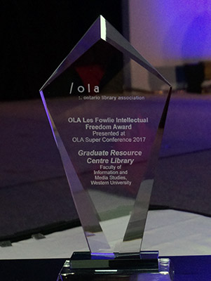 Les Fowlie Award for Intellectual Freedom