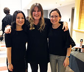 Kathie Hess, Senior Academic Counsellor, catches up with Laura Mallozzi (BA'14) and Sarah Bugeja (BA'10).
