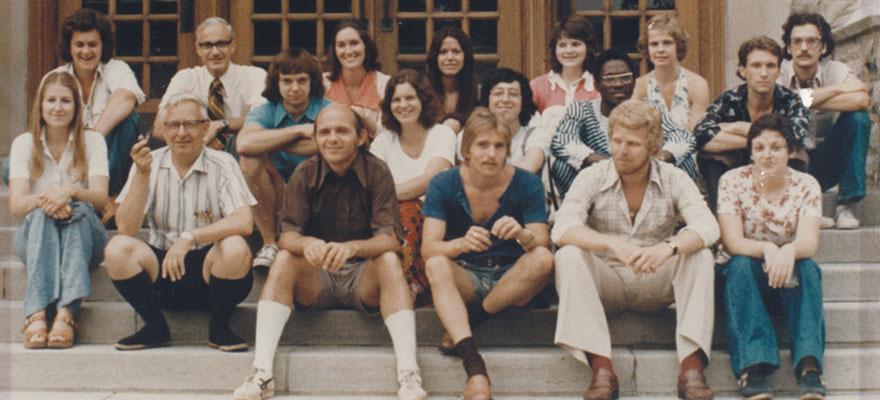 Grad class of 1974-75