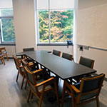 Student meeting room.